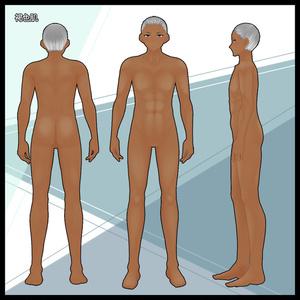 【VRoid】ムキムキ肉体肌・色白肌・褐色肌・元気肌