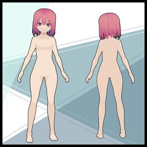 【VRoid改変用モデル】スパイシーガール