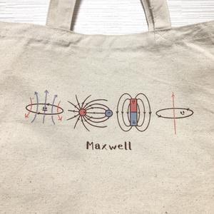 マクスウェル方程式トートバッグ