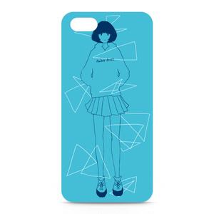 女の子 Blue【5/5s】※側面なし
