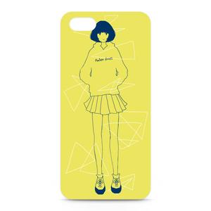 女の子 Yellow【5/5s】※側面なし