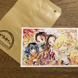 かまぼこ隊ポストカード(秋)