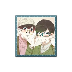 眼鏡松さん缶バッジ :サイバー松ver(チョロ松×トド松)