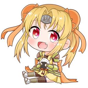 戦国乙女/大好物だっこダイカットクッションキーホルダー/豊臣ヒデヨシ