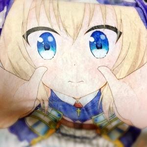 【戦国乙女】大友ソウリンの抱っこしてもふもふブランケット