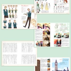 【冊子版】お茶会への招待状ビジュアルファンブック