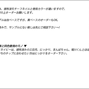 補充用-単品チップ①【セミオーダー】