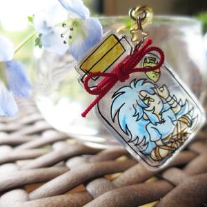 聖闘士瓶詰ストラップ