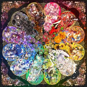 【スマホケース】Colorfulora