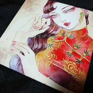 原画「北京娘」