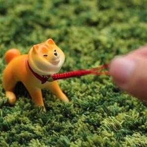 【予約・2次出荷】散歩から帰りたくない柴犬フィギュア(塗装済み完成品)