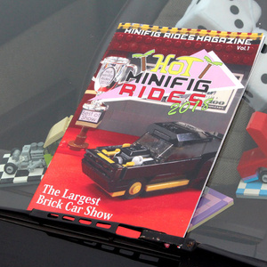 Minifig Rides Magazine Vol1: Hot Minifig Rides 2018