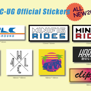 4WLC-UG Official Stickers 8枚セット
