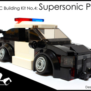 4WLC Building Kit No4: Supersonic Police