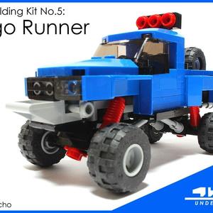4WLC Building Kit No5: Indigo Runner