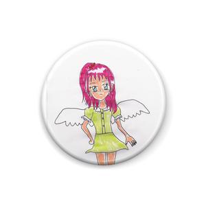 光の天使エディーナ缶バッジ