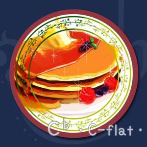 「ホットケーキ」ミラー