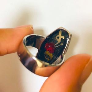 納棺師さん 指輪