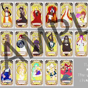Tarot By The original character-あんしんBOOTHパックver