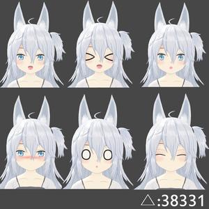 オリジナル3Dモデル(Nora)