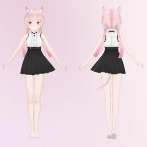 オリジナル3Dモデル(becky)