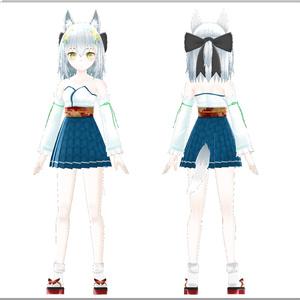 オリジナル3Dモデル(poco)