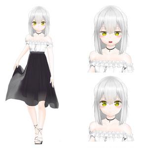 オリジナル3Dモデル(Len)