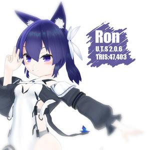 オリジナル3Dモデル(Ron)