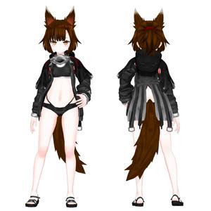 オリジナル3Dモデル(Erin)