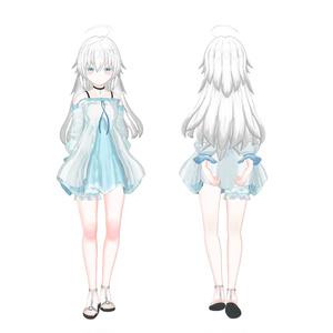 オリジナル3Dモデル(Rie)