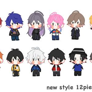 new style ステッカー