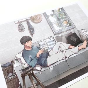 【大判カード】LIVING ROOM