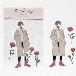 【ステッカー】Rose × Boy