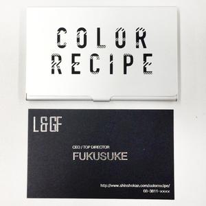「カラーレシピ」福ちゃんの名刺入りカードケース(名言ランダム5種)