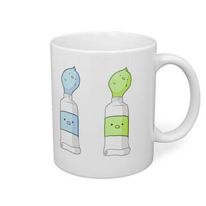 ぴよ具のマグカップ