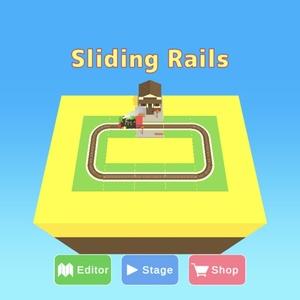 Sliding Rails - リアルタイムパズル