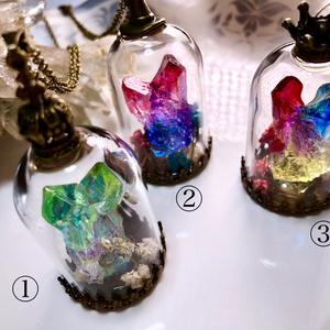 虹鉱石ネックレス