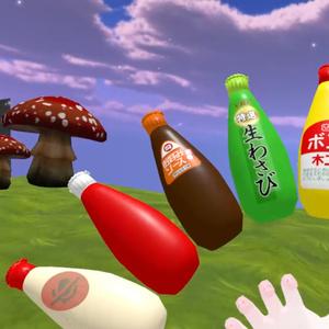 3Dモデル「マヨネーズ」用追加テクスチャ 調味料セット