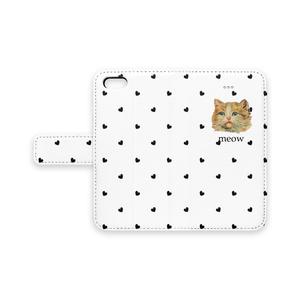 meow2 手帳型iPhoneケース