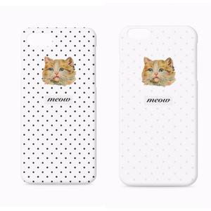 meow2 ドットiPhoneケース
