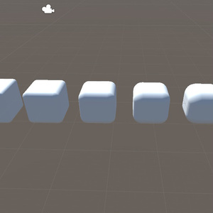 【無料】面取りキューブ BeveledCube【UnityPackage】