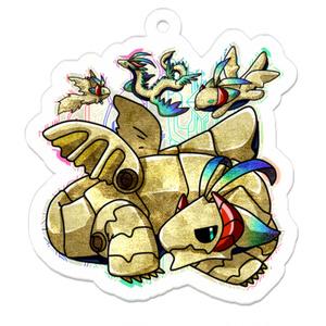 【次元竜】『竜ぐるみ』アクリルキーホルダー