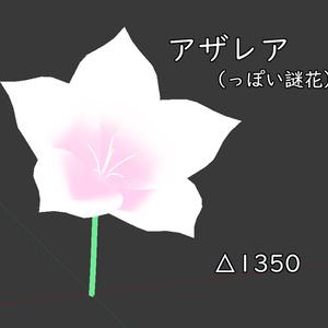 アザレア風の花