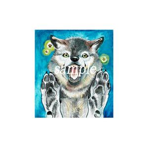 狼のスマホリング