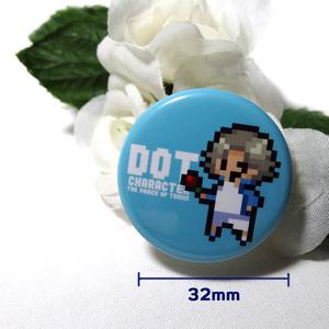氷帝 缶バッチ32mm