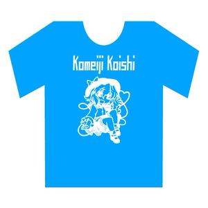 ブルー蓄光 こいしTシャツ ブルー Lサイズ