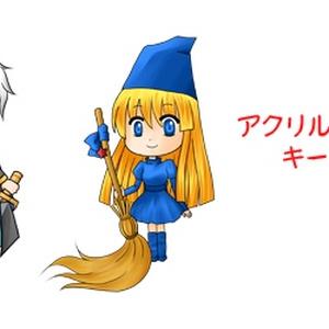 魔導物語 魔導師の塔 アクリルキーホルダー