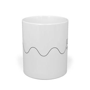 ドコカノうさぎ PatsupyonSineWaveRabbit マグカップ