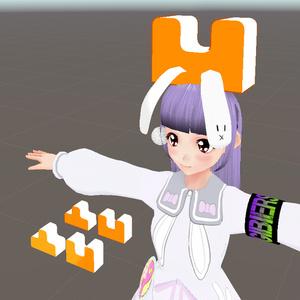「DekoBoko」3Dモデル(unitypackage,blender,fbx)