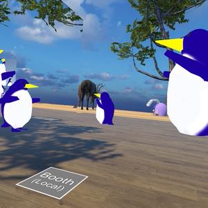ドコカノペンギン親子アバター(VRChat/Quest対応)